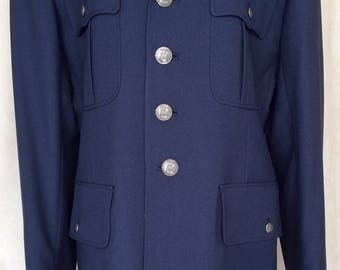 U. S. Air Force Military Blue  Ranger Dress Jacket Made in USA