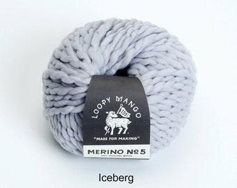 Loopy Mango - Merino No. 5 - Iceberg