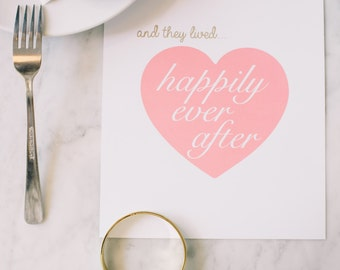 Happily Ever After | Print | Home Decor