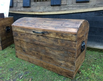 Storage Chest made with reused pallet wood