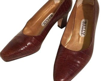 Vintage Bally heels