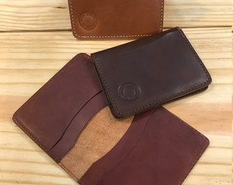 Card Wallet, 4 pocket, folded