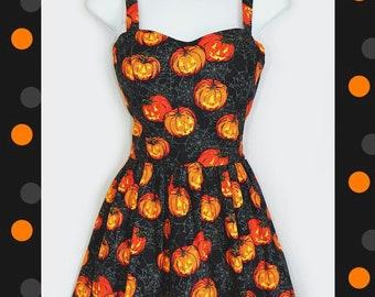 Halloween Pumpkin dress.