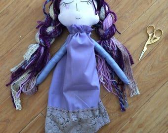 Violetta Cloth Art Doll