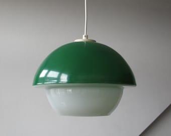 Rare 60's Glass Mushroom Pendant