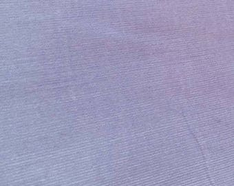 "SALE Lavender Featherwale Corduroy Fabric  --  44""/45"""" Wide"
