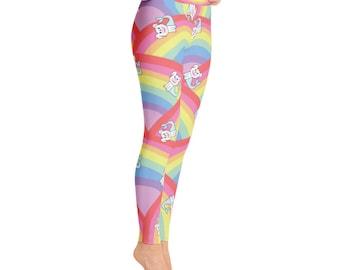 Rainbow Tokyo Yoga Leggings