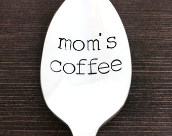 moms coffee, gift for mom, gifts for her, christmas gift ideas, gift under 20, coffee spoon