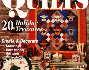 McCall's Quilting Quick Quilts Magazine - November 1999