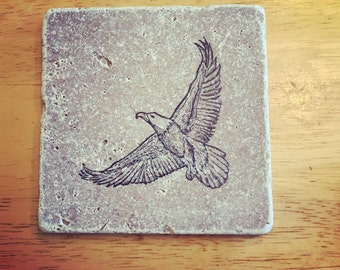 Eagle Coasters. (Set of 4)