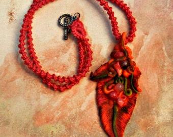Phoenix Down Feather Necklace