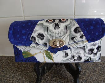 skulls and roses NCW purse