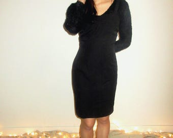 Vintage Black Mini Dress