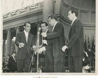 The Four Lads Canada singing quartet vintage photo