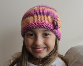 girl Knitted Wool Hat