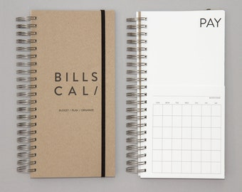 DIY Bills Calendar