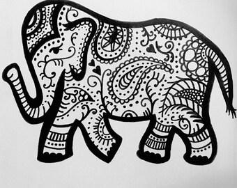 Elephant Painting Kit