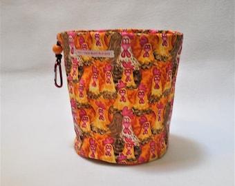 Orange Chickens Bag