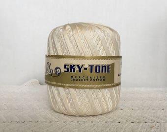Vintage Lily Mills Cotton Yarn. Crochet Yarn, Thread Yarn, String Yarn, Tatting Fiber, Lace Making, Doily