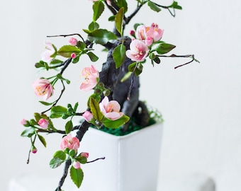 Cherry Blossoms - Air Dry Clay Flowers