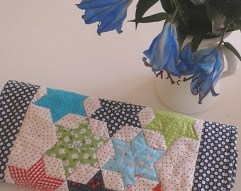 Spring/Summer table runner. Table top.