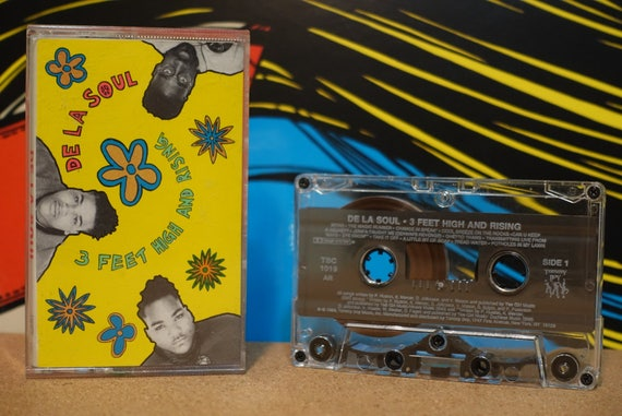 3 Feet High And Rising by De La Soul Vintage Cassette Tape