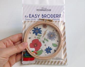 Flowers - Big Kit EASY BRODERIE