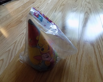Winnie the Pooh Birthday Party Hats Vintage Decor Favors Girls Boys Paper Party Supplies
