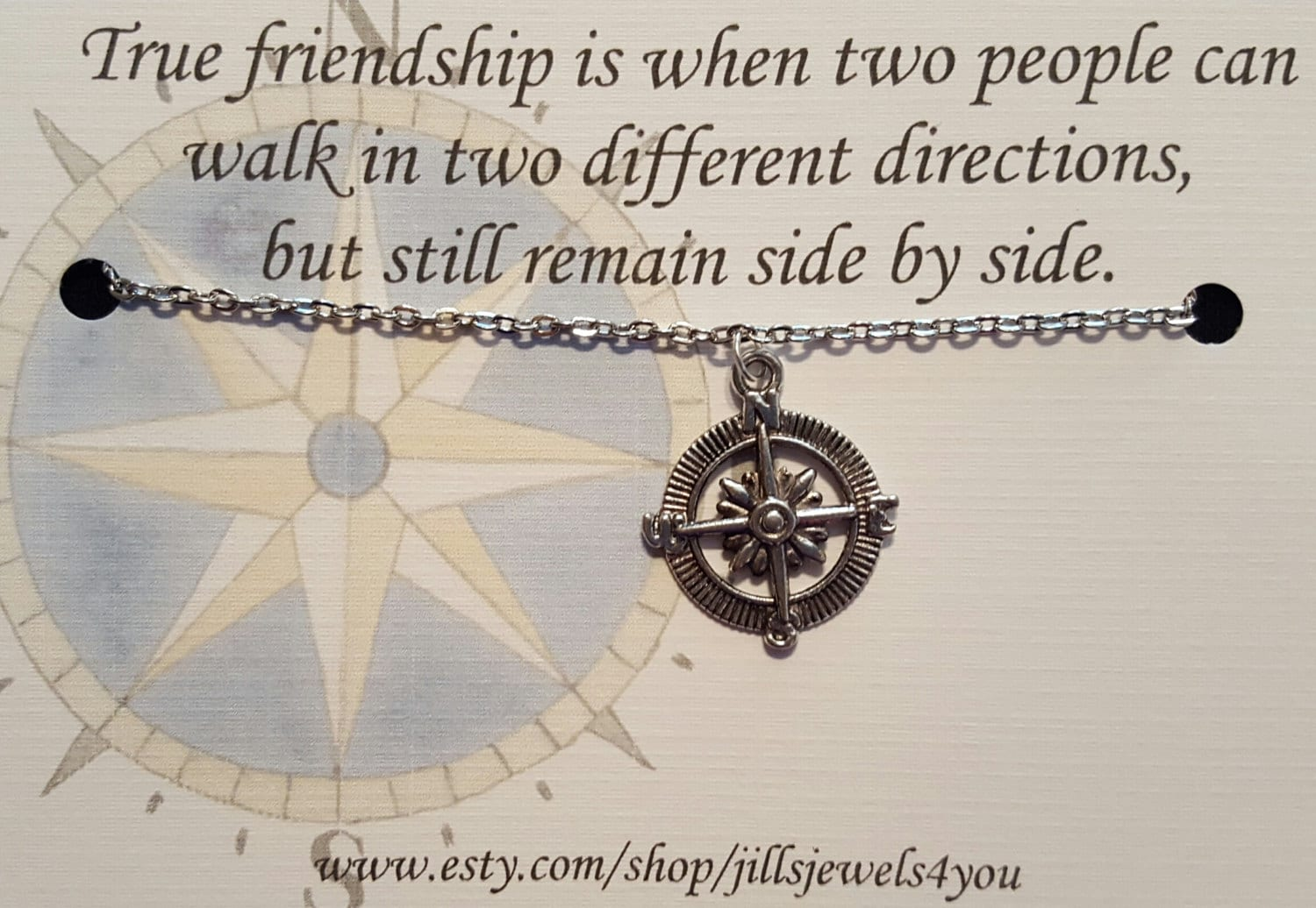 Quotes About Long Distance Friendship Long Distance Friendship Necklace Compass Best Friend