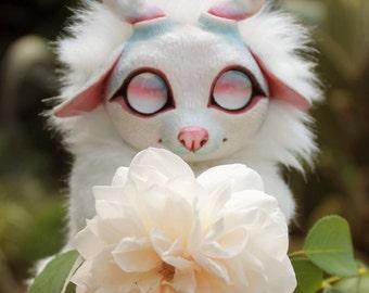 Mystical white deer