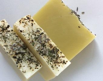 Peppermint lavender soap, natural soap, aromatherapy soap, vegan soap, essential oil soap, peppermint soap, lavender soap, dry skin soap