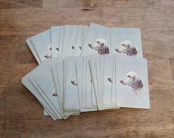 Vintage Dog Deck of Playing Cards