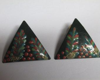 Vintage Earrings / Costume Jewelry / Dress up / Pierced Earrings