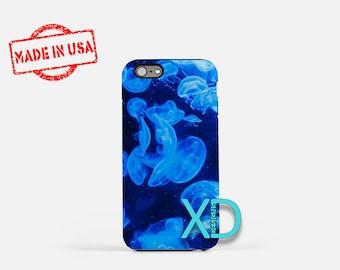 Jellyfish iPhone Case, Ocean iPhone Case, Jellyfish iPhone 8 Case, iPhone 6s Case, iPhone 7 Case, Phone Case, iPhone X Case, SE Case