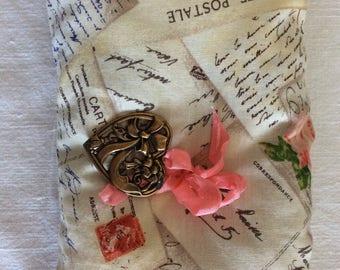 Lavender Sachet Pillow French Carte Postale (#1326)