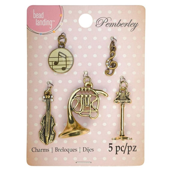 Pemberley music charms by bead landing mozeypictures Image collections