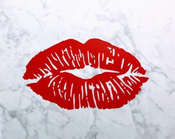 Lips Vinyl Decal