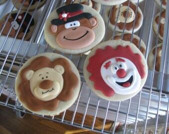 Circus Cookies-0 1 Dozen