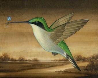 Hummingbird Landscape