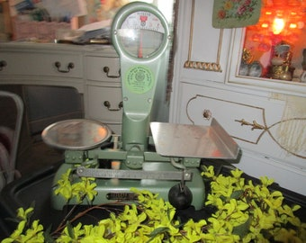 Vintage Detecto Gram Scale, 1964 Detecto Scale, Brooklyn, NY,Primitive/Country.French Country Kitchen