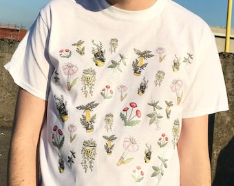 Plantlife and Nightlife t-shirt