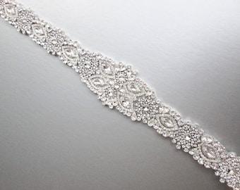 Wedding belt, Bridal belt sash, Crystal belts sashes, Swarovski bridal belt, Bridal beaded rhinestone belt, Bridal crystal belt sash
