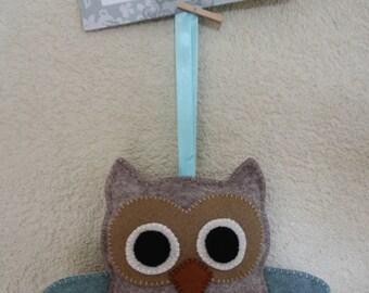 Owl of Felt