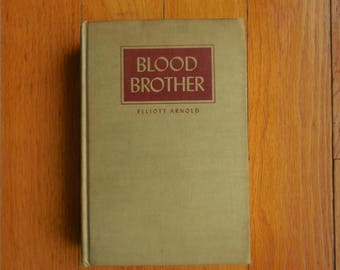 Blood Brother by Elliott Arnold 1950 Illustration Dale Nichols