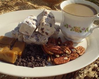 Coffee Turtle Marshmallows  Handmade gourmet confection