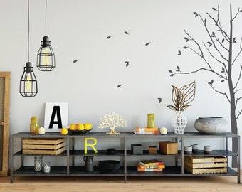 Autumn Tree - Handmade Wall Decal