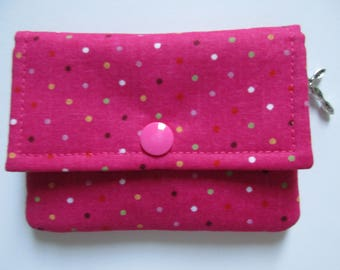 Mini Wallet, small wallet, business card holder, gift card holder, woman's wallet, rewards cards holder, ID holder, etc