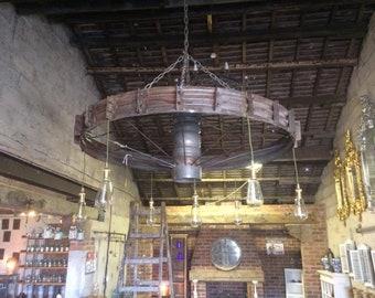 chandelier with 7 lights /rustic/home Decoration/retro/vintage/metal/interior