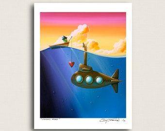 Finding Nemo - and they found eachother - Limited Edition Signed 8x10 Matte Print - (4/10)