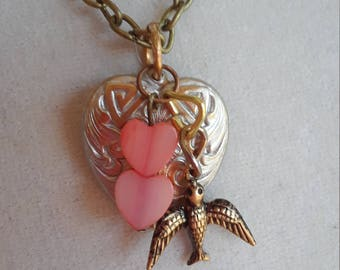 Necklace handmade specially for Valentines day